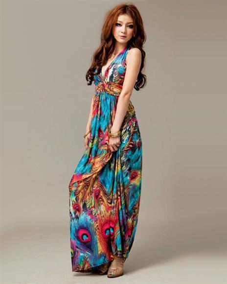 Название: dress-bohemian-exotic-v-neck-halter-female-4120337-Gallay.jpg Просмотров: 431  Размер: 27.2 Кб