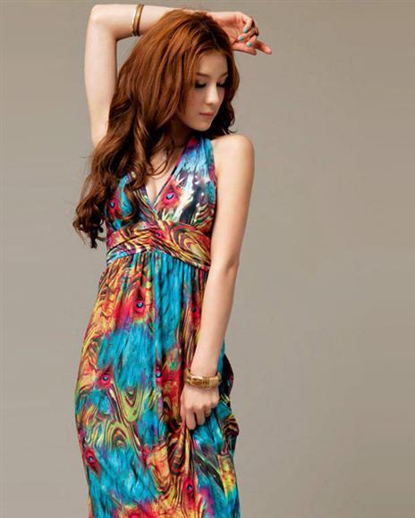 Название: dress-bohemian-exotic-v-neck-halter-female-4120335-Gallay.jpg Просмотров: 145  Размер: 32.3 Кб